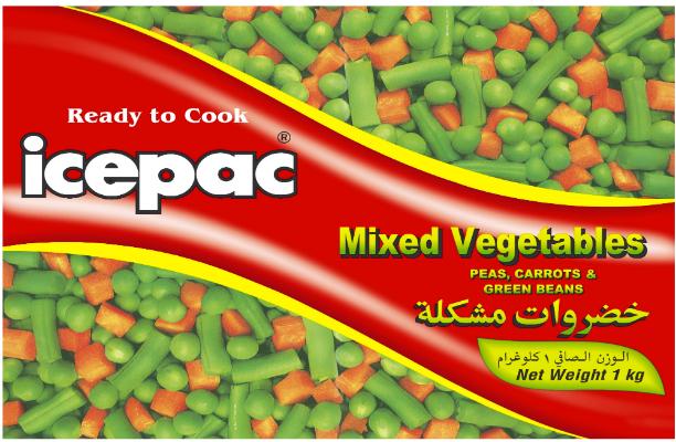 Icepac MIX 3 Veges